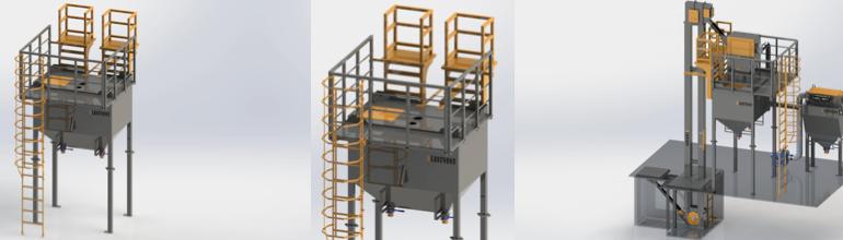 Abrasiivaine transportimise mehhaanilised süsteemid – seeria MECHTRANS