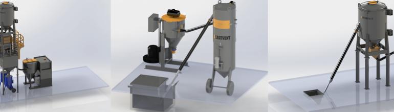 Abrasiivaine transportimise vaakumsüsteemid – seeria COMPLEXA-V