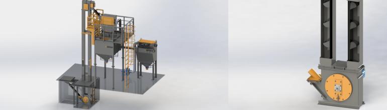 Koppelevaatorid – seeria BE